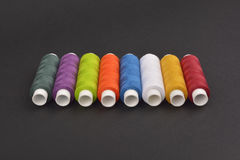 Colorful spools Royalty Free Stock Photography