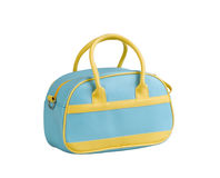 Colorful sport bag. For keeping sport ware Royalty Free Stock Photo