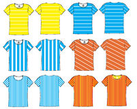 colorful sports jersey Royalty Free Stock Photography