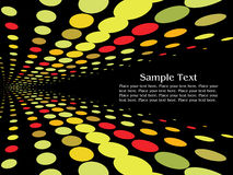Colorful spot light abstract background Royalty Free Stock Photography