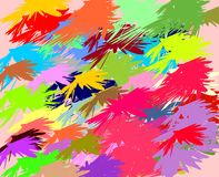 Colorful spots of color, background Royalty Free Stock Image