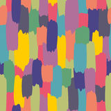 Colorful spots seamless abstract pattern. Decorative vector background Stock Photo