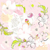 Colorful spring background Royalty Free Stock Photos