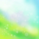 Colorful spring background. With bokeh effect Stock Image