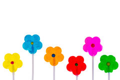 Colorful spring background with copy space Stock Photo