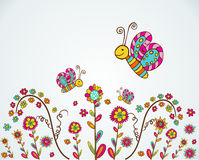 Spring nice flower background Royalty Free Stock Photos