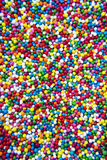 Colorful sprinkle balls Stock Image