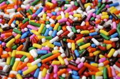 Colorful Sprinkles Royalty Free Stock Images