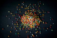Colorful sprinkles Royalty Free Stock Image