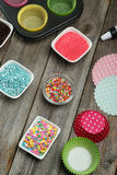 Colorful sprinkles Royalty Free Stock Photography