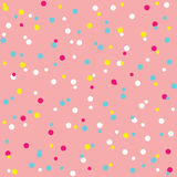 Colorful Sprinkles Donut Glaze Seamless Pattern Royalty Free Stock Image