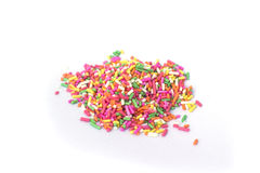 Colorful sprinkles Stock Photography