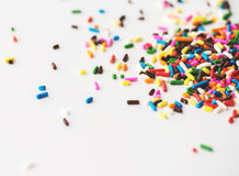 Colorful Sprinkles Royalty Free Stock Photos