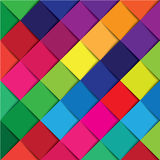 Colorful square abstract background Royalty Free Stock Photo