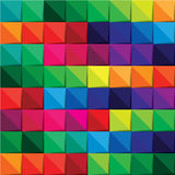 Colorful square abstract background Stock Images
