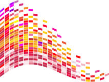 Colorful square background Stock Photo