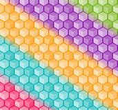 Colorful Square Background Royalty Free Stock Images