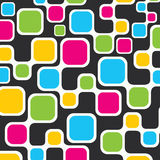 Colorful square background Royalty Free Stock Image
