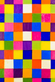 Colorful square background Stock Images