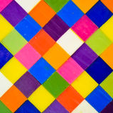 Colorful square background Stock Photography