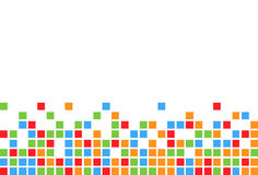 Colorful square background Royalty Free Stock Photos