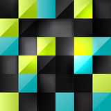 Colorful square background Royalty Free Stock Photography