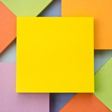 Colorful Square blank background Royalty Free Stock Image