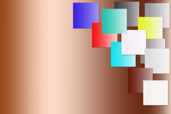 Colorful of square blank background. Stock Photography