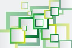 Colorful Square blank background Stock Images