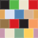 Colorful square boxes background Royalty Free Stock Photo