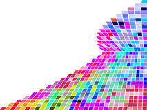 Colorful square mosaic Royalty Free Stock Photo