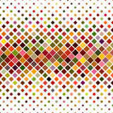 Colorful square pattern background design. Colorful abstract square pattern background design - vector illustration Stock Photography