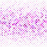 Colorful square pattern background design. Vector illustration Royalty Free Illustration