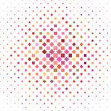 Colorful square pattern background design. Vector illustration Vector Illustration