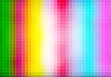 Colorful square pixel mosaic background Royalty Free Stock Photos