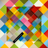 Colorful Square Retro Paper Background Royalty Free Stock Photos