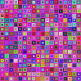 Colorful square tile mosaic background design Stock Photo