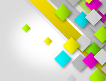 Colorful Squares 2 Stock Photos