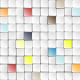 Colorful squares Stock Photo