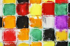 Colorful squares Royalty Free Stock Photos