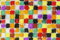 Colorful squares Stock Photos