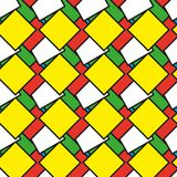 Colorful squares as seamless pattern. Illustration stock illustration