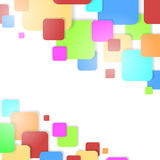 Colorful squares background. Royalty Free Stock Photography