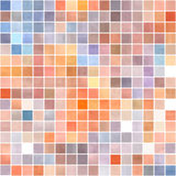 Colorful squares background. Stock Image