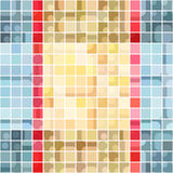 Colorful squares background Royalty Free Stock Photo