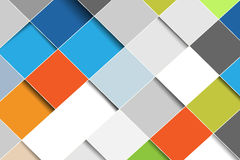 Colorful squares background Stock Photo