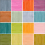 Colorful Squares Background. Vector Rectangles Seamless Pattern vector illustration