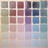Colorful squares - grunge background Royalty Free Stock Image