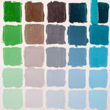 Colorful squares - grunge background Royalty Free Stock Photography
