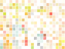 Colorful squares or pixels Stock Photo